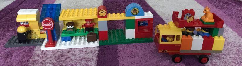 Lego Duplo - Buszmegálló