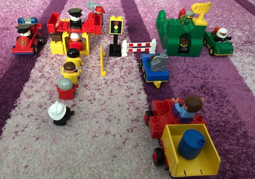 Lego Duplo - határátkelõhely