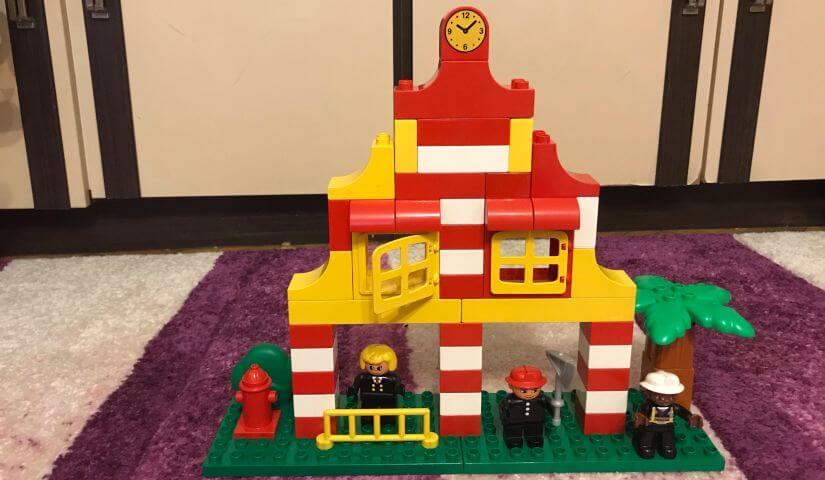 Lego Duplo - Tûzoltó állomás